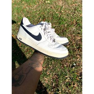 Nike Air Force 1s Size 10 White Blue